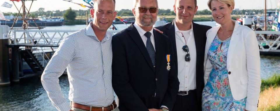Roelof Fransbergen Ridder in de orde van Oranje-Nassau